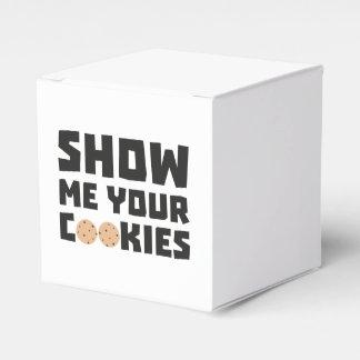 Show me your Cookies Z64x4 Wedding Favor Boxes