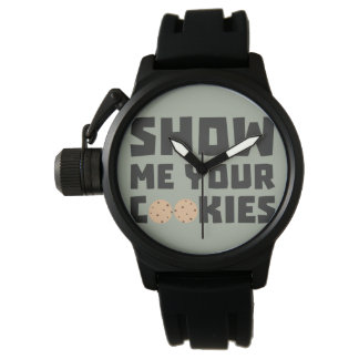 Show me your Cookies Z64x4 Wrist Watches