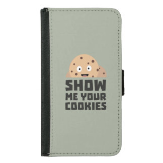 Show me your Cookies Z9xqn Samsung Galaxy S5 Wallet Case
