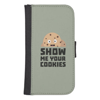 Show me your Cookies Z9xqn Samsung S4 Wallet Case