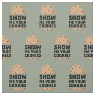 Show me your Cookies Znwm6 Fabric