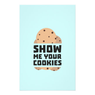 Show me your Cookies Znwm6 Full Color Flyer