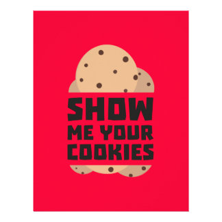 Show me your Cookies Znwm6 Personalized Flyer