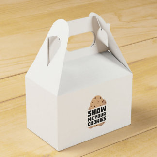 Show me your Cookies Znwm6 Wedding Favor Boxes