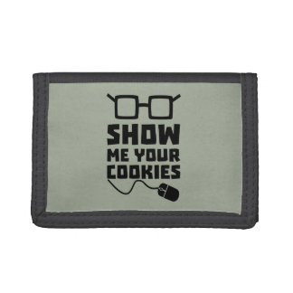 Show me your Cookies Zx363 Trifold Wallet