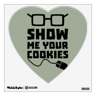 Show me your Cookies Zx363 Wall Sticker
