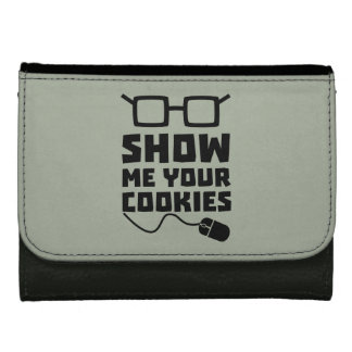 Show me your Cookies Zx363 Wallets For Women