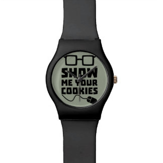 Show me your Cookies Zx363 Wrist Watches