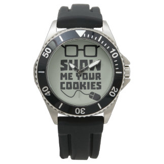 Show me your Cookies Zx363 Wristwatch