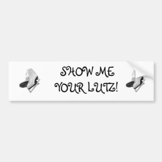 Show Me Your Lutz Bumper Sticker