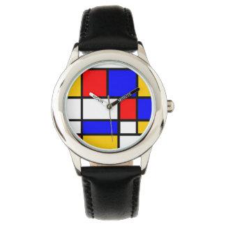 Show Mondrian Wrist Watches