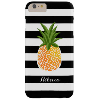 Show Off Tropical Fashion Style with Pineapple Barely There iPhone 6 Plus Case