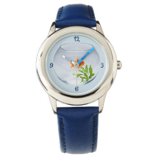 Show out of stainless steel Goldfish Watch
