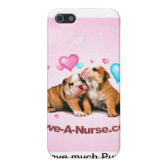 Show Puppy Love for Nurses Cases For iPhone 5
