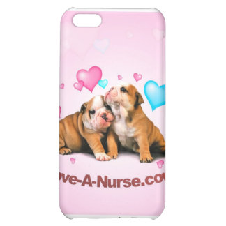 Show Puppy Love for Nurses Cover For iPhone 5C
