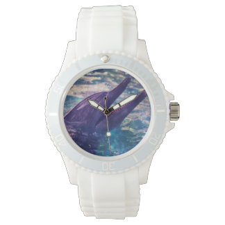 "SHOW SPORTY ""A DOLPHIN IN SPACE "" WRISTWATCHES"