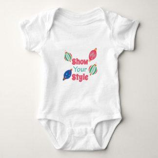 Show Style Baby Bodysuit