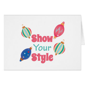 Show Style Card