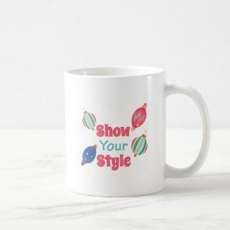 Show Style Coffee Mug