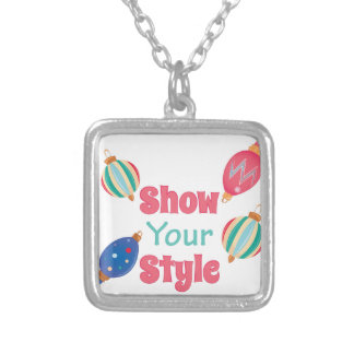 Show Style Silver Plated Necklace