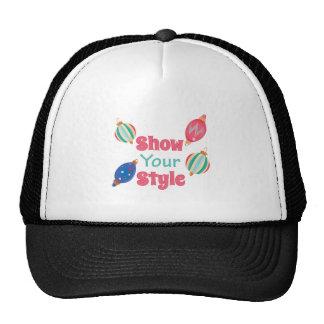 Show Style Trucker Hat