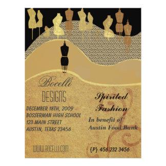 Show & Stylist Fashion Personalized Flyer