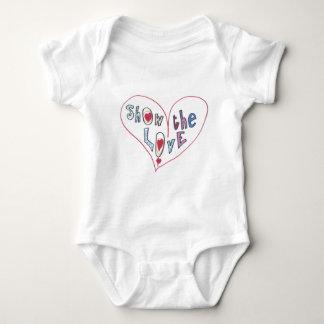 Show the Love Baby Bodysuit