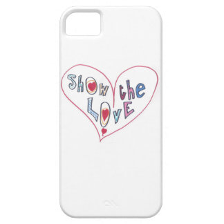 Show the Love iPhone 5 Cover