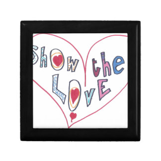 Show the Love Keepsake Box