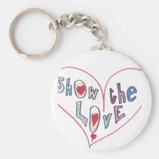 Show the Love Keychain