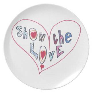 Show the Love Party Plate