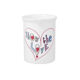 Show the Love Pitcher
