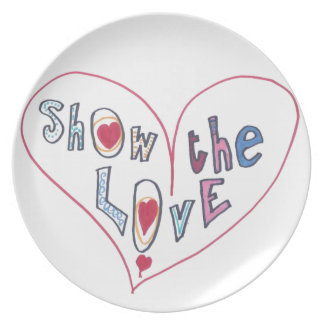 Show the Love Plates