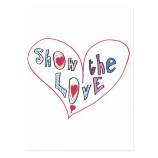 Show the Love Postcard