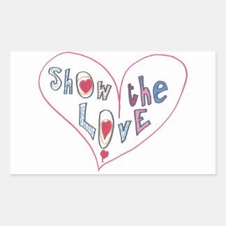 Show the Love Sticker
