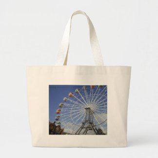 Show_Time,_Ferris_Wheel,_ Large Tote Bag