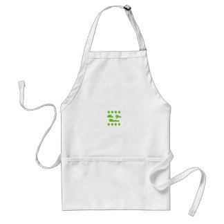 Show Your Christmas jGibney The MUSEUM Zazzle Gift Standard Apron