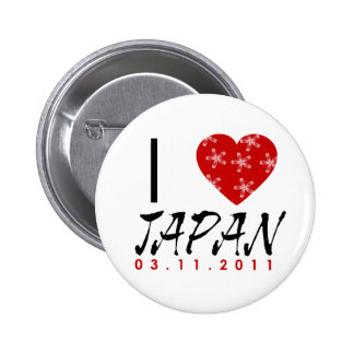 Show Your Love To Japan 2 Inch Round Button