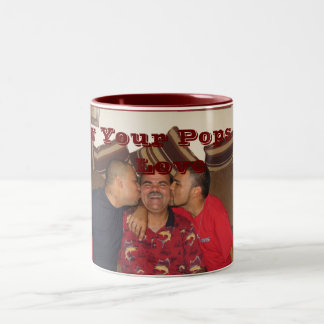 Show Your Pops Some Love Two-Tone Coffee Mug