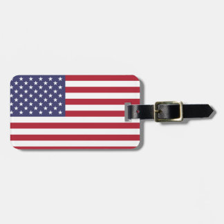 Show your pride in the United States! Bag Tag