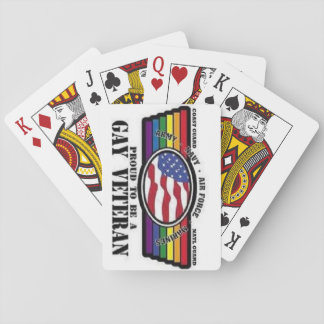 Show Your Service and Pride, play the game! Poker Deck