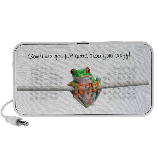 Show your stuff - Doodle by OrigAudio™ iPhone Speakers