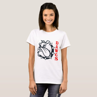 Show your team spirit with this bulldog logo. Ever T-Shirt