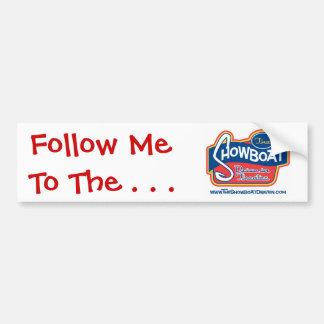 Showboat Drive in Bumper Sticker