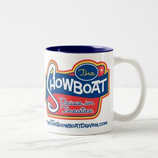 Showboat Drive In Two Tone Mug  11oz.