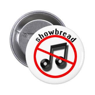 showbread (band) 2 inch round button
