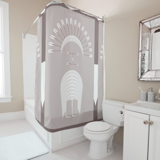 Shower Curtain ARROW HEADDRESS