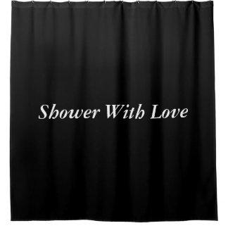 Shower curtain(Black)