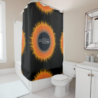 Shower Curtain CHAOS SUN