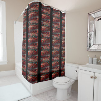 Shower Curtain EVOLVE TEXT GRAPHIC